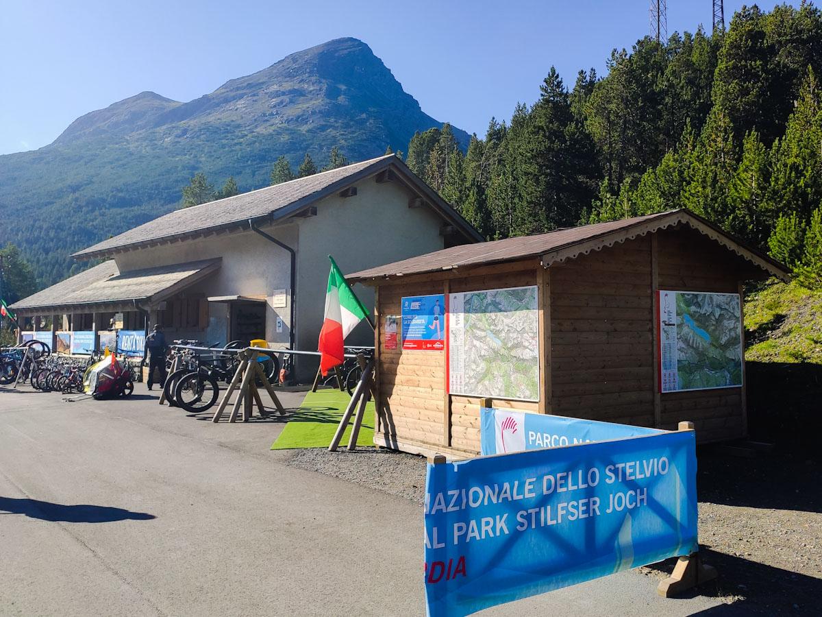 Parcheggio A2A Laghi di Cancano, dove noleggiare biciclette