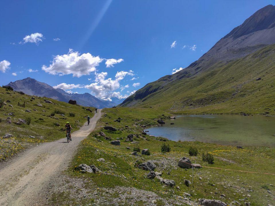 Salita al Passo dell'Alpisella dei laghi di Cancano