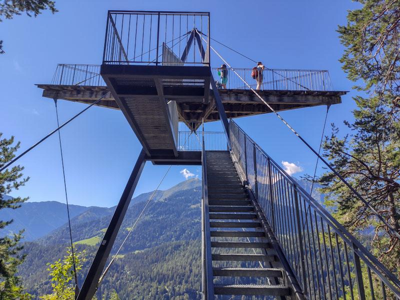Gole del Reno Piattaforma Panoramica Il Spir