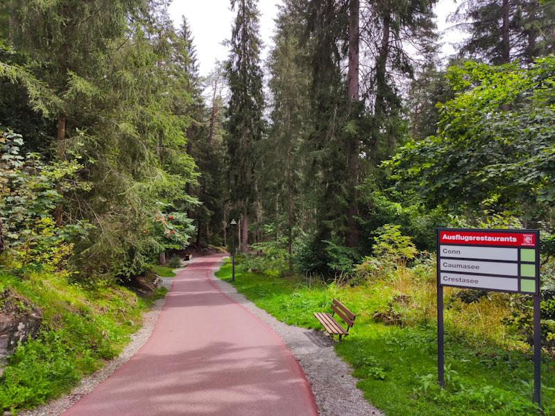 Sentiero per il Lago di Cauma