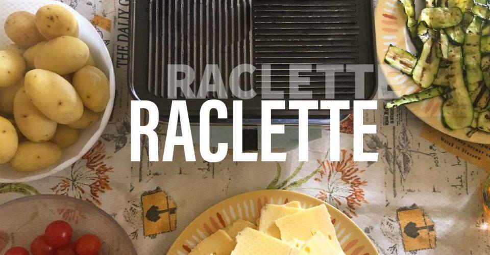 Raclette piatto tipico svizzero