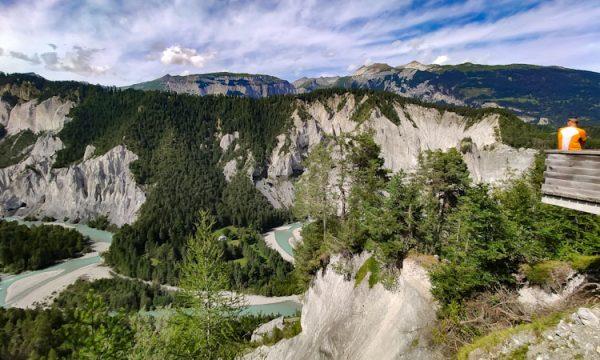 Gole del Reno: il Grand Canyon della  Svizzera