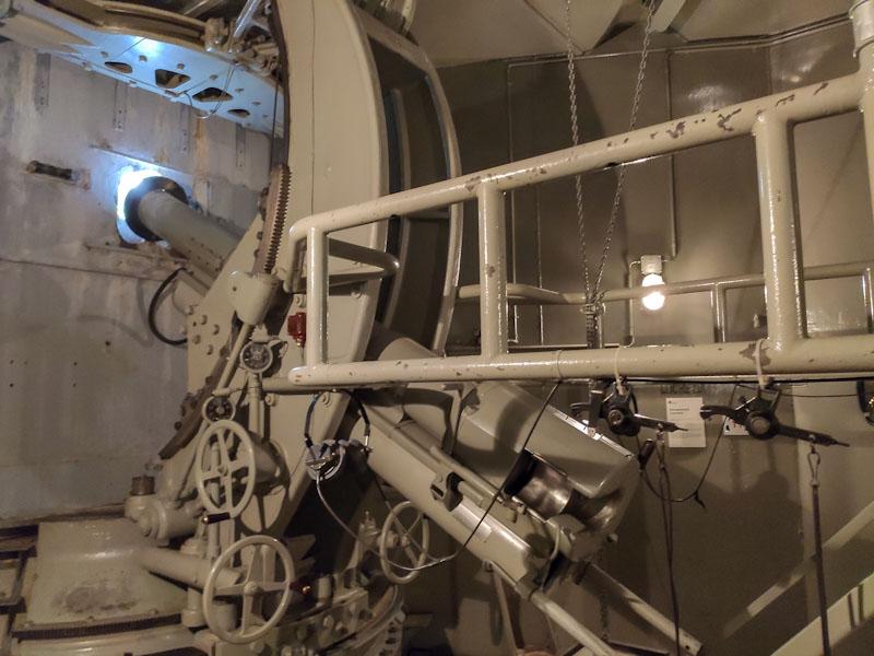 Cannone Silvia al Museo del Forte Crestawald