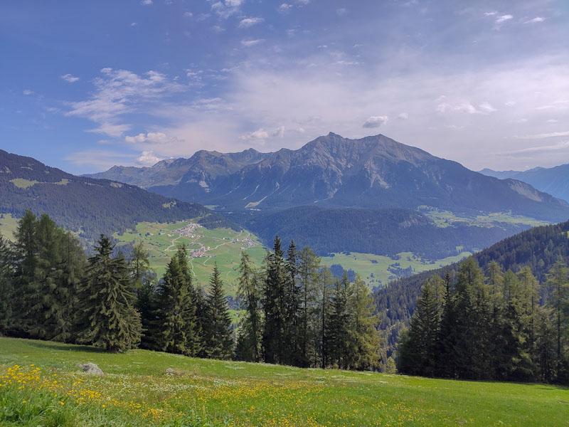 Panorama da Obermutten