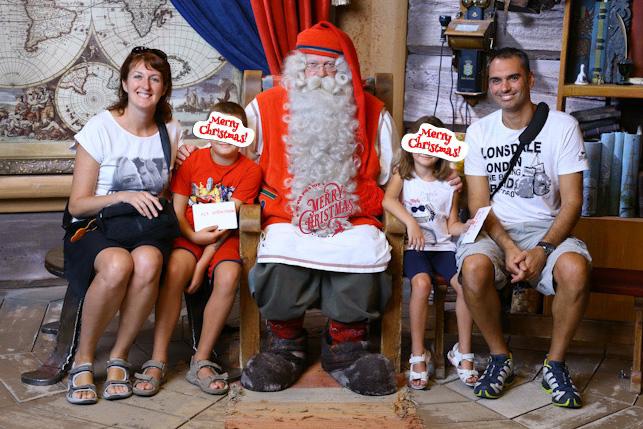 Incontrare Babbo Natale a Rovaniemi