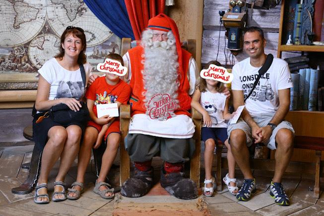Babbo Natale al Santa Claus Village