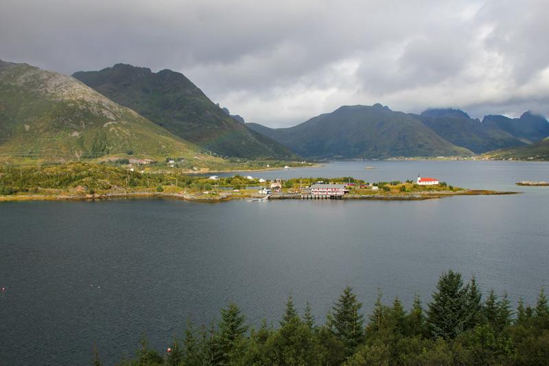 Vesteralen Norvegia di ritorno da Capo Nord