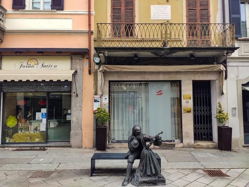 casa di Stradivari a Cremona in corso Garibaldi