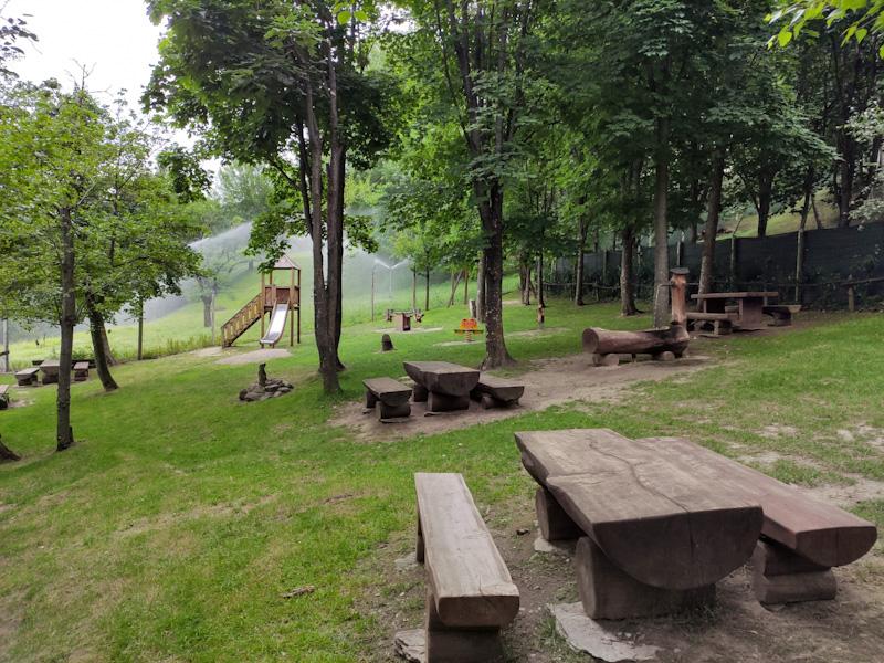 Area picnic Parc Animalier d'Introd