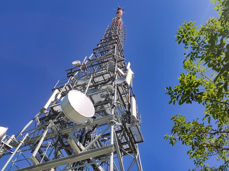 Ripetitore emittenti radio-tv Monte San Salvatore
