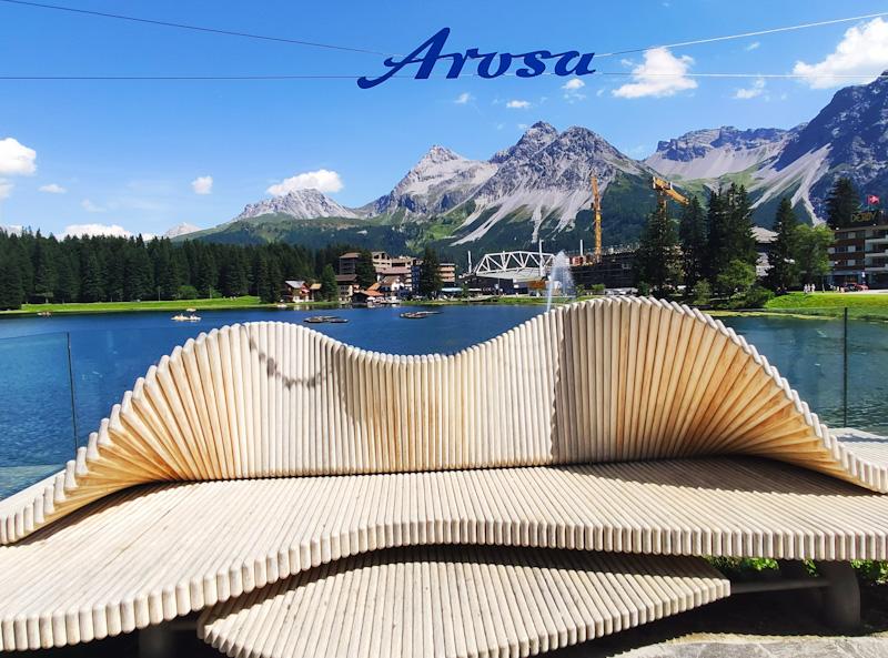 Foto point ad Arosa