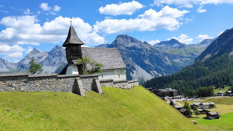 Bergkirchli chiesetta di montagna ad Arosa