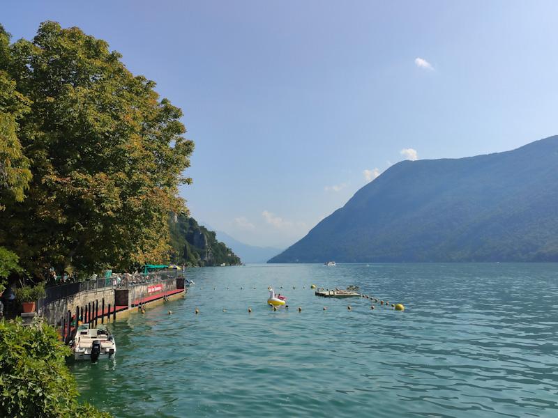 Lido San Domenico tra Gandria e Lugano