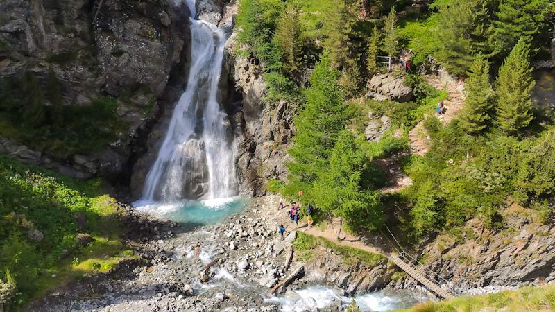 Sentiero Cascate della Val Nera
