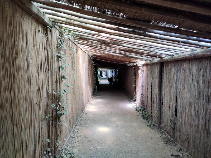 Tunnel nascosto oasi di Sant'Alessio